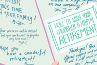 How To Best Wish Your Coworker A Happy Retirement regarding Retirement Card Template