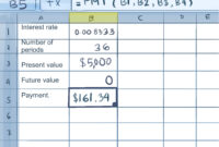 How To Calculate Credit Card Payments In Excel: 10 Steps for Credit Card Interest Calculator Excel Template