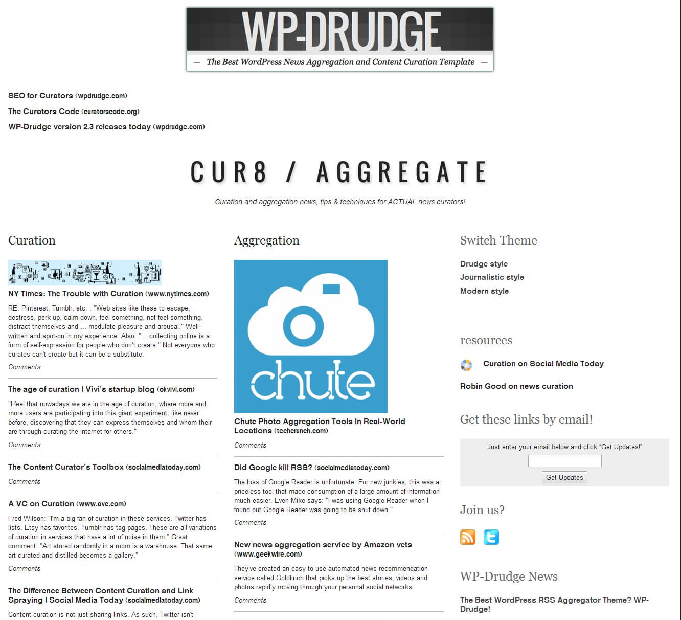 How To Create A Drudge Report Clone Using Wp Drudge - Wp Mayor Regarding Drudge Report Template