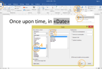 How To Create A Mail Merge Template Using Ms Word Throughout How To Insert Template In Word