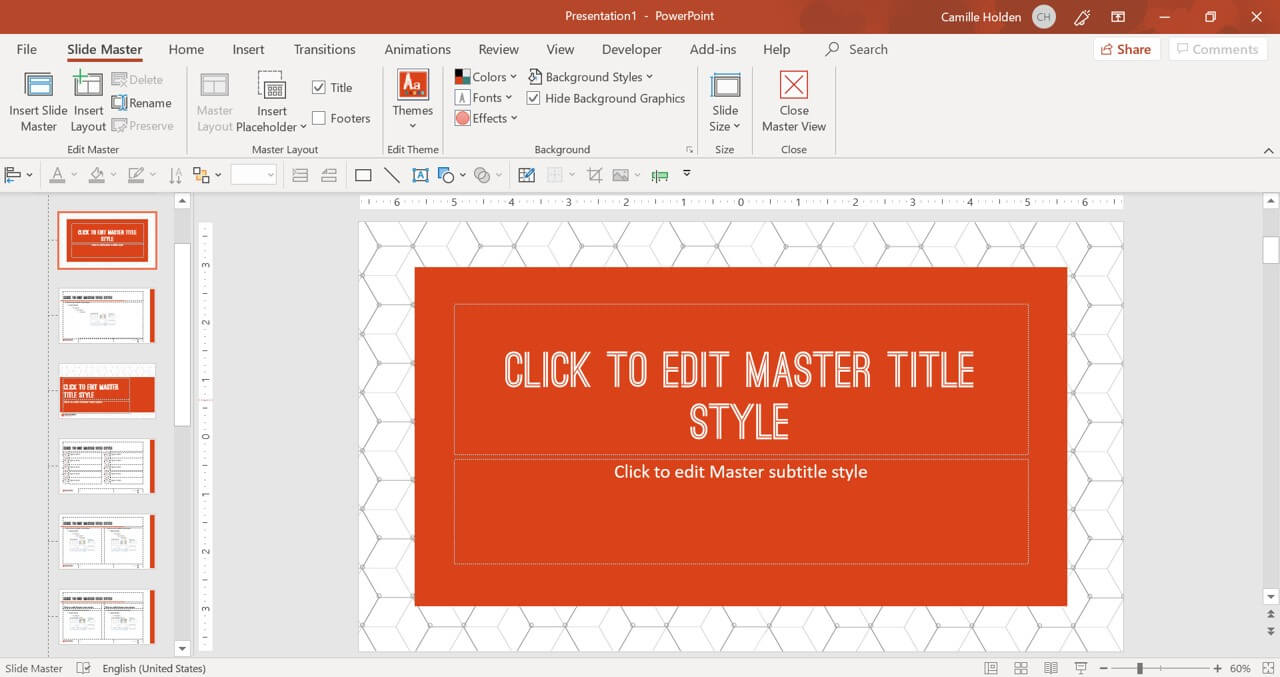 How To Create A Powerpoint Template (Step By Step) Pertaining To Save Powerpoint Template As Theme