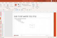 How To Create A Powerpoint Template (Step By Step) Regarding How To Save A Powerpoint Template