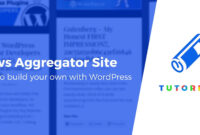 How To Create A WordPress News Aggregator Website intended for Drudge Report Template