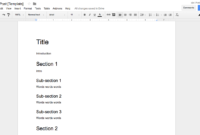 How To Create Effective Document Templates pertaining to Where Are Templates In Word