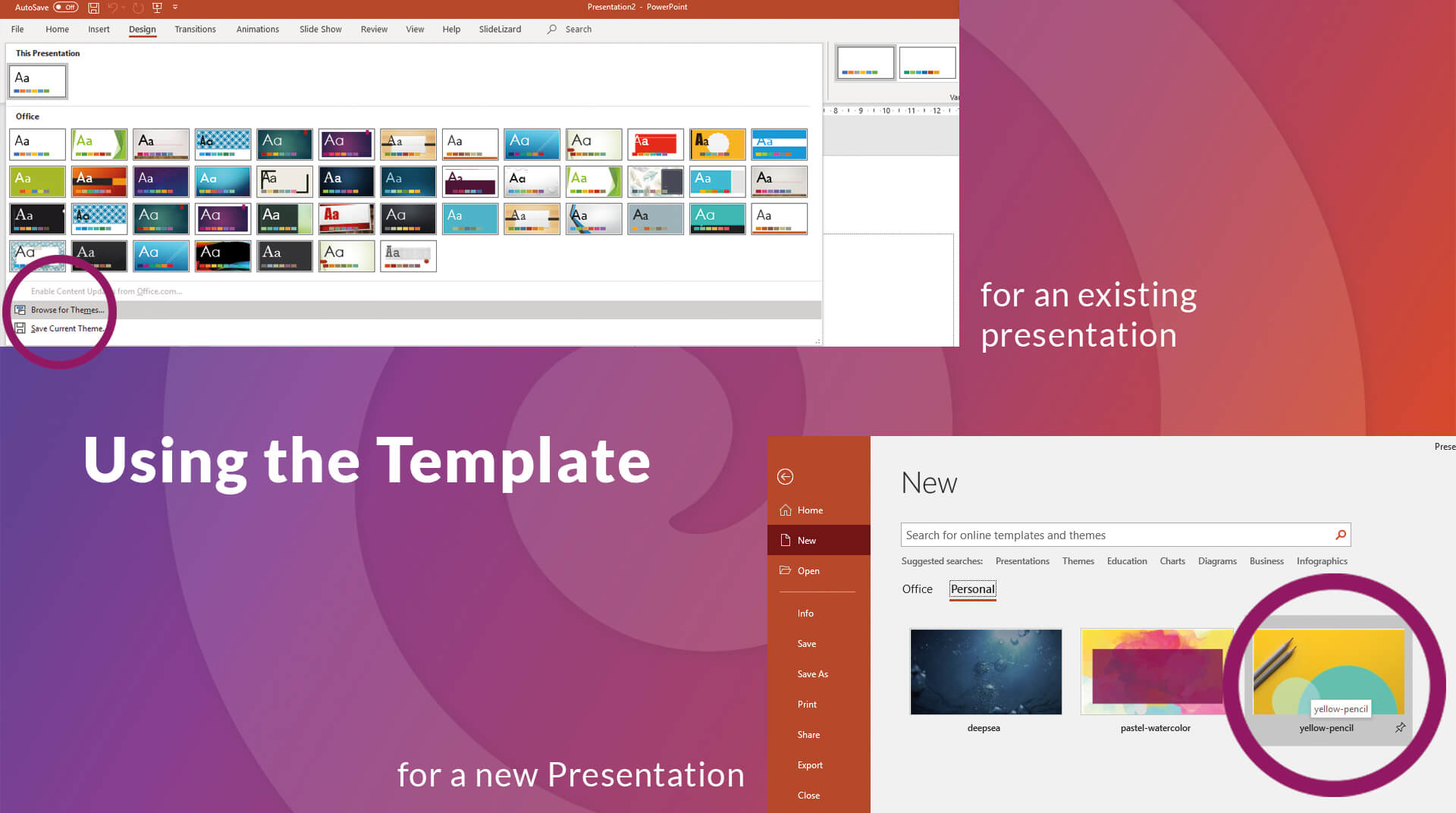 How To Create Your Own Powerpoint Template (2020)   Slidelizard For How To Save A Powerpoint Template