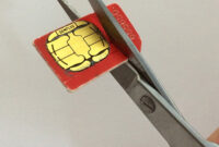 How To Cut Down A Sim Card: Make A Free Nano-Sim For Iphone in Sim Card Cutter Template