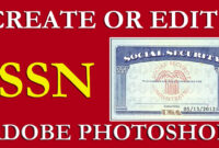 How To Edit Ssn | Ssn Pdf Template Download Free On Vimeo inside Social Security Card Template Photoshop
