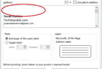 How To Insert Graphics Into Word Label Documents – Techrepublic pertaining to How To Create A Mail Merge Template In Word 2010