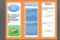 How To Make A Brochure In Microsoft Word | How To Make regarding Ms Word Brochure Template