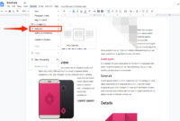 How To Make A Brochure On Google Docs For Your Company Or within Google Doc Brochure Template