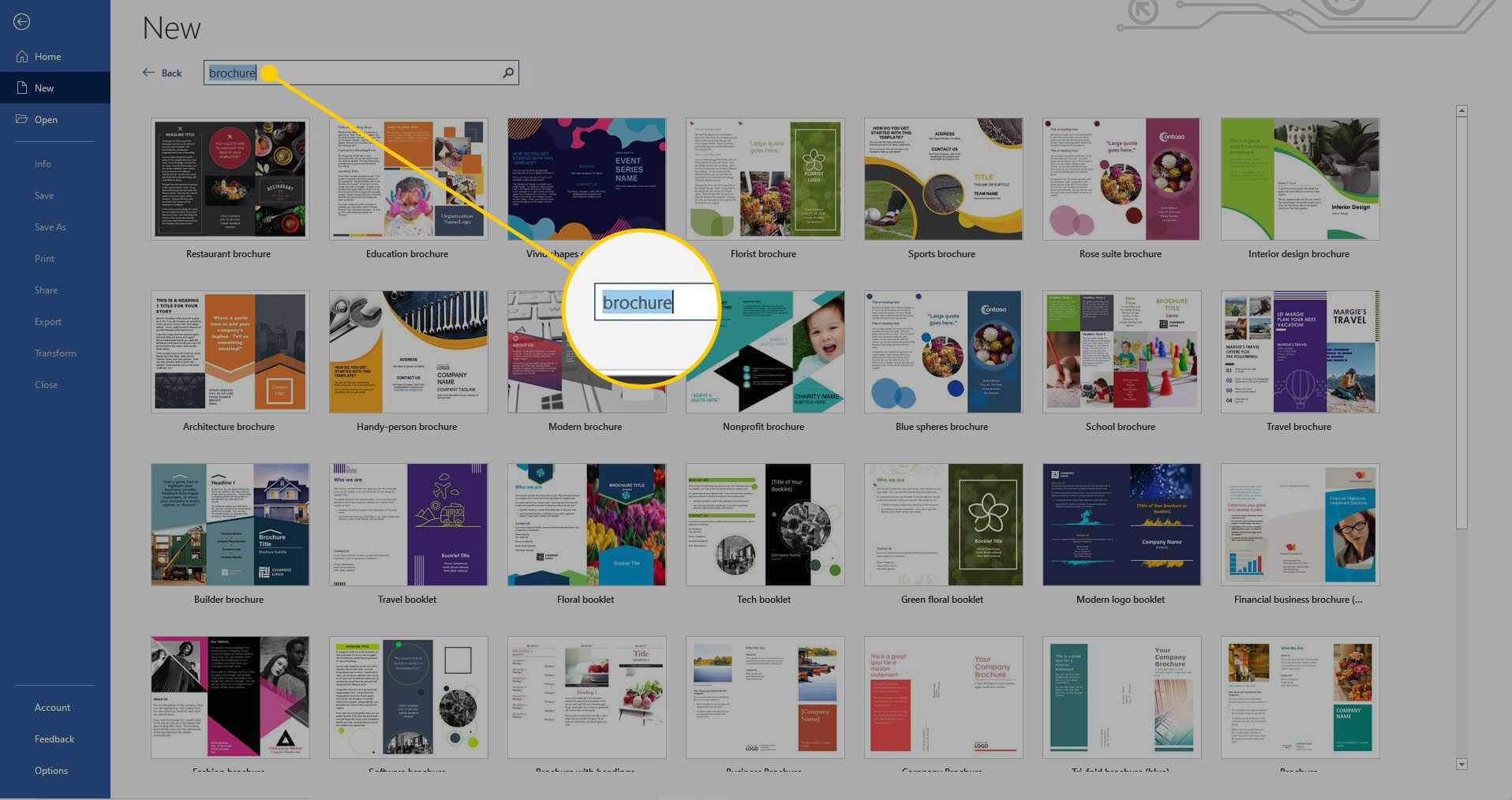 How To Make A Brochure On Microsoft Word In Microsoft Word Pamphlet Template