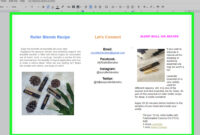 How To Make A Brochure Using Google Docs (With Pictures Pertaining To Brochure Template For Google Docs