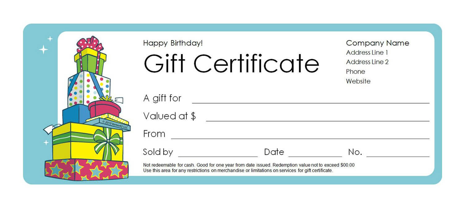 How To Make A Gift Voucher   Certificatetemplategift Throughout Custom Gift Certificate Template
