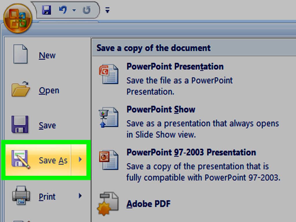 How To Make A Powerpoint Template: 12 Steps (With Pictures) Within How To Save Powerpoint Template