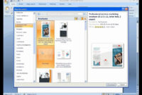 How To Make A Trifold Brochure In Powerpoint – Carlynstudio for Booklet Template Microsoft Word 2007