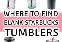 How To Personalize A Starbucks Tumbler With Vinyl | Cricut in Starbucks Create Your Own Tumbler Blank Template
