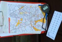 How To Plan A Street-O Event – Claro Orienteering regarding Orienteering Control Card Template