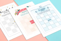 How To Play Bridal Shower Bingo (With Printables)   Shutterfly within Blank Bridal Shower Bingo Template