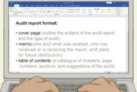 How To Write An Audit Report: 14 Steps (With Pictures) – Wikihow with regard to Internal Control Audit Report Template
