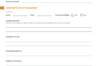 How To Write An Effective Incident Report [Examples + in Serious Incident Report Template