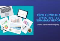 How To Write An Effective Test Summary Report [Download intended for Software Testing Weekly Status Report Template