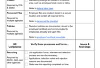Hr Compliance: Definition [+ Free Hr Audit Checklist] with regard to Sample Hr Audit Report Template