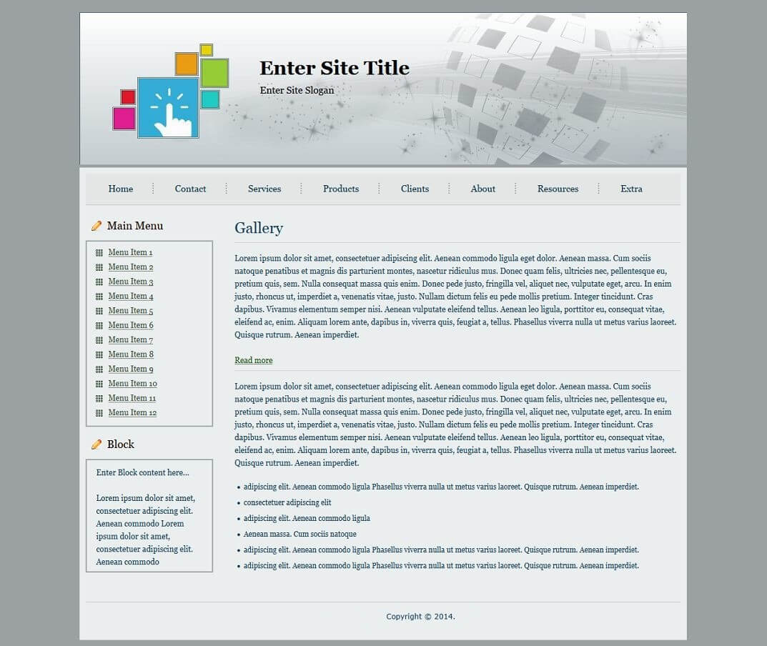 Html Templates Pertaining To Blank Html Templates Free Download