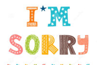 I Am Sorry Cards. 10 Ways To Apologize And Free Printable regarding Sorry Card Template