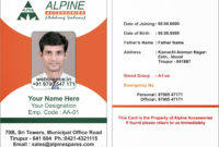 I Card Sample Format – Ironi.celikdemirsan within High School Id Card Template
