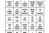 Icebreakers: The Best Way To Get A Party Started | Gaming inside Ice Breaker Bingo Card Template