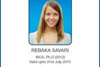 Id Card Designs | Identity Card Design, Id Card Template regarding Pvc Card Template