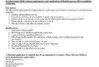 Ideas Examples Internal Job Posting Customer Example Letter intended for Internal Job Posting Template Word