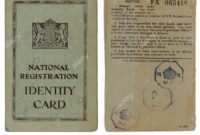Identity Card Cut Out Stock Images & Pictures – Alamy throughout World War 2 Identity Card Template