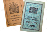 Identity Card Cut Out Stock Images & Pictures – Alamy with regard to World War 2 Identity Card Template