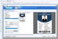 Identity Card Software Design Student Employee Faculty Photo for Faculty Id Card Template