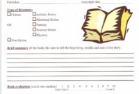 Image Result For 6Th Grade Book Report Format | Book Report within Ar Report Template