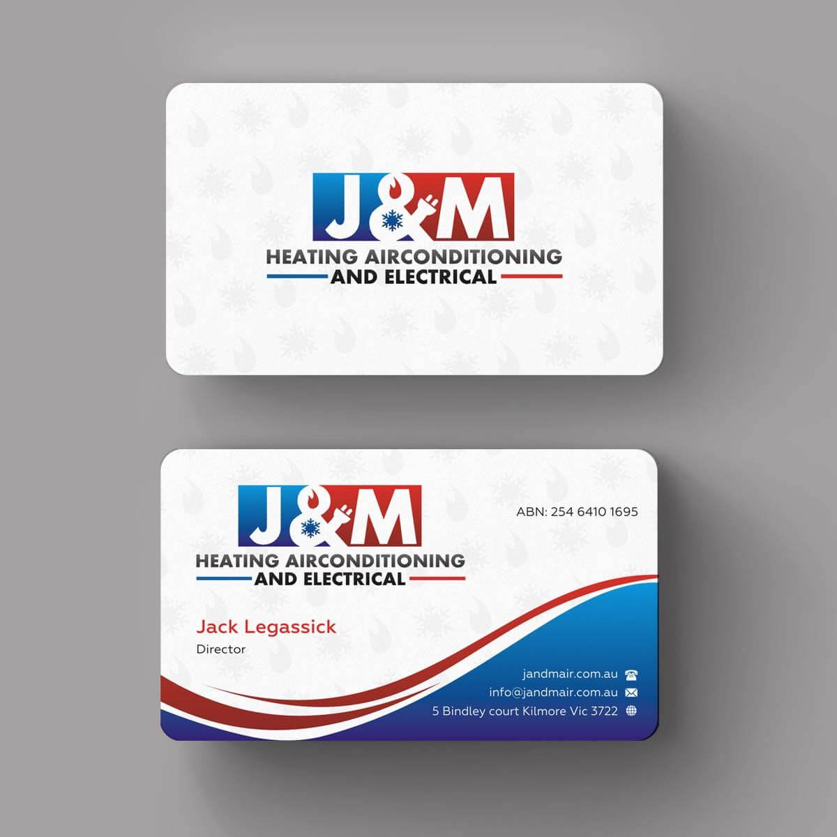 Image Result For Business Card Ideas For Hvac And Electrical With Hvac Business Card Template