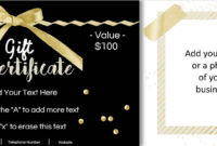 Image Result For Free Customizable Gift Certificate Template Inside Custom Gift Certificate Template