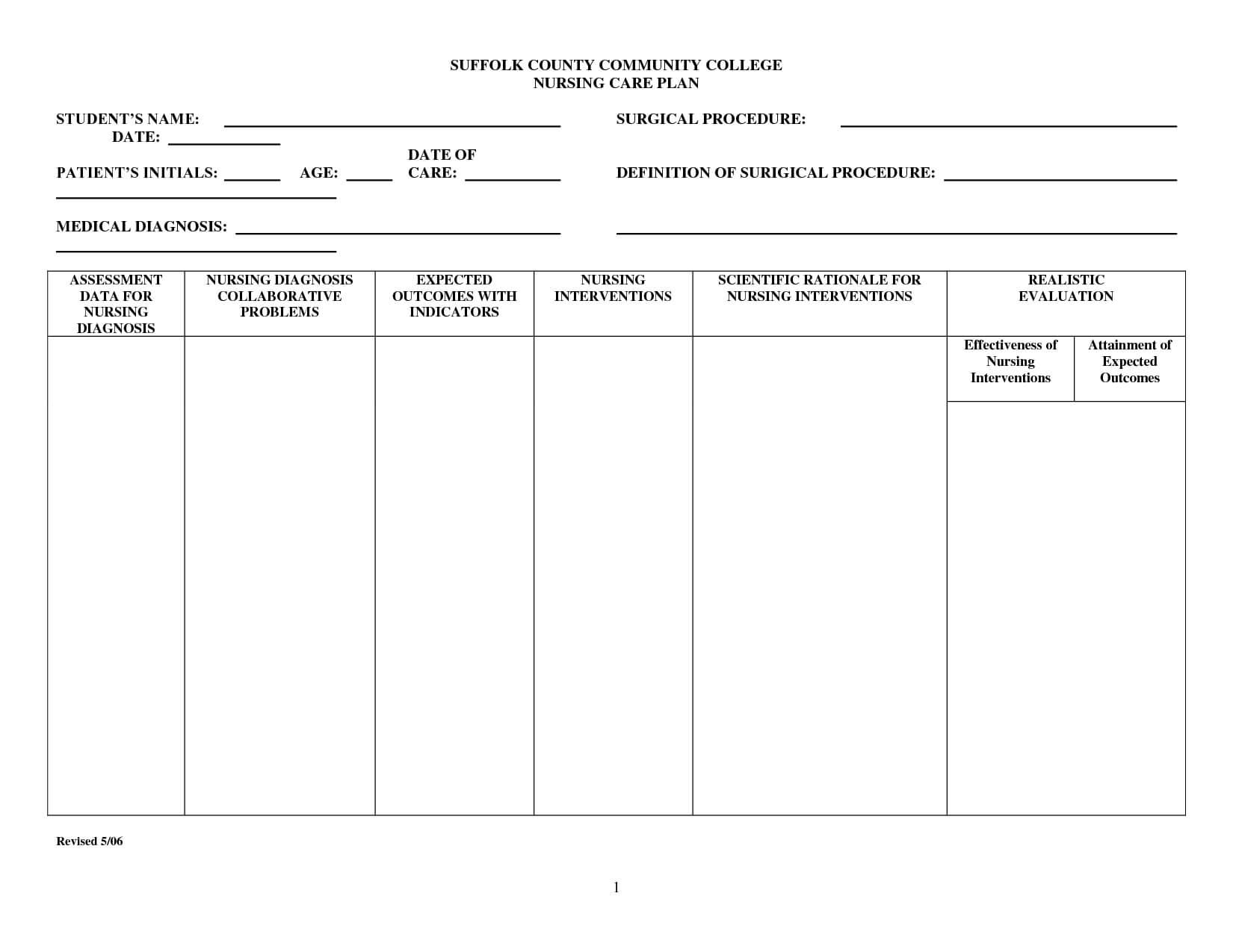 Image Result For Plan Notification | Nursing Care Plan In Nursing Care Plan Template Word
