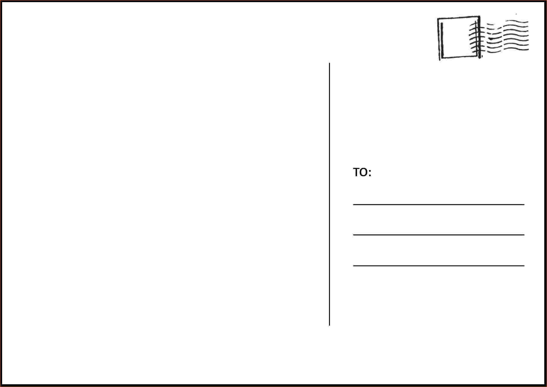 Image Result For Postcard Template | Free Postcards, 4X6 Throughout Microsoft Word 4X6 Postcard Template