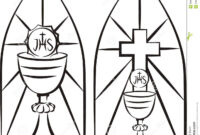 Image Result For Stain Glass First Communion Banner Template inside First Communion Banner Templates