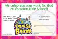 Image Result For Vbs Certificate 2018 Free Templates with regard to Free Vbs Certificate Templates