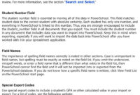Import And Export User Guide Powerschool Student Information with regard to Powerschool Reports Templates