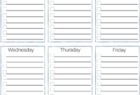 Impressive Editable Cleaning Schedule Template Ideas Weekly in Blank Cleaning Schedule Template