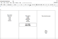 Incredible Google Drive Brochure Templates Template Ideas with Brochure Templates Google Drive