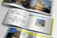 Indesign Brochure Template Graphics, Designs & Templates regarding Architecture Brochure Templates Free Download