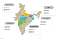 India Map Blank Templates – Free Powerpoint Templates throughout Blank City Map Template