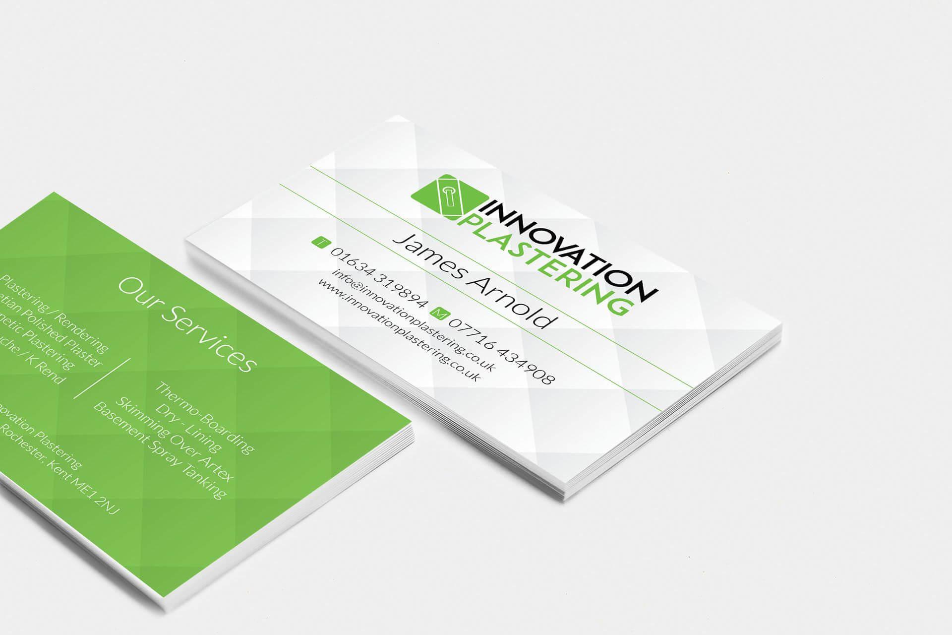 Innovation Plastering Business Card Design #businesscard In Plastering Business Cards Templates
