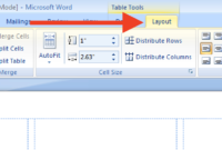 Insert And Resize Images/text Into Label Cells In A Word Inside How To Insert Template In Word
