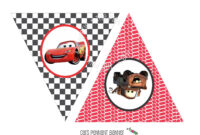 Instant Download – Printable Cars Themed Happy Birthday Intended For Cars Birthday Banner Template